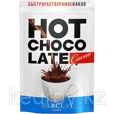 "Какао-напиток ""Barclay"" горячий шоколад, 350 гр дой-пак."