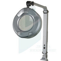 Люминисцентный станочный светильник с трехкратной лупой Optimum ALM 3