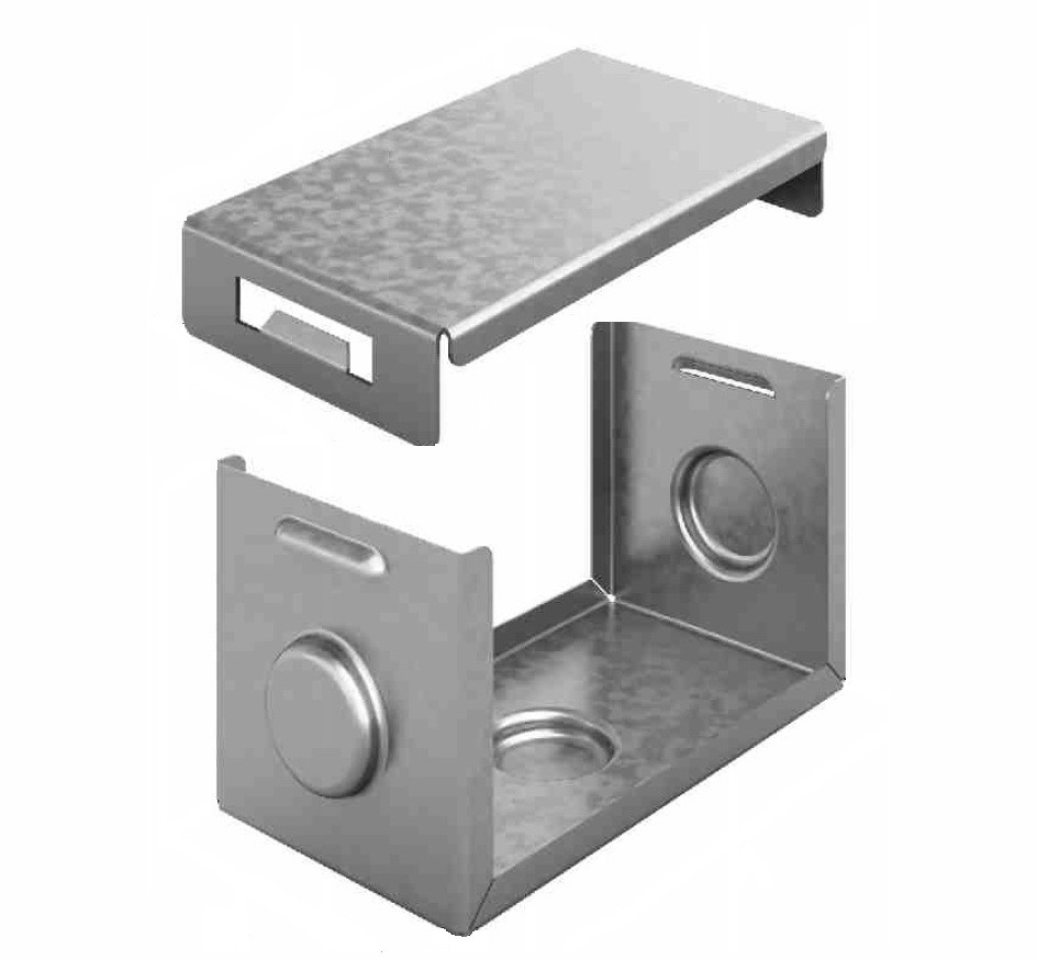 Система защиты стыка IP44 для лотка 400х80