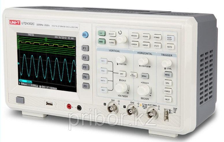 Осциллограф 300МГц, 2-х канальный UNI-T UTD4302C