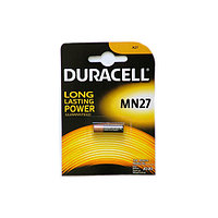 Батарейки Duracell Long lasting power, A27/MN27, 12 V, цена за штуку
