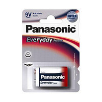 Батарейки Panasonic Every Day Power крона 6LR61EPS/1BP, 9V, 1 шт./уп, цена за штуку