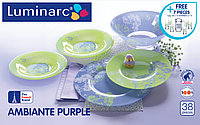 Сервиз Luminarc Purple Mix&Match, 45 предм.