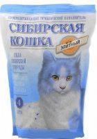 Наполнитель кошачьих туалетов Сибирская Кошка Элитный силикагелевый