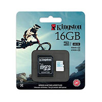 Карта памяти Kingston MicroSD 16GB Class 10 90 Mb/s