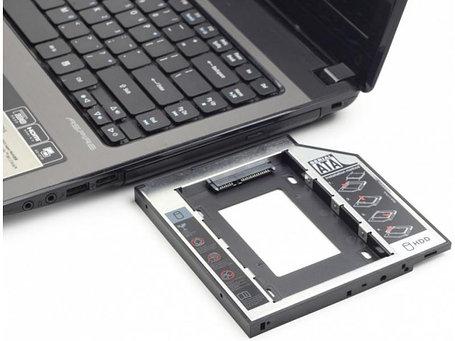 "Корзина для 2,5"" HDD вместо DVD привода ноутбука 12.7 mm, фото 2"