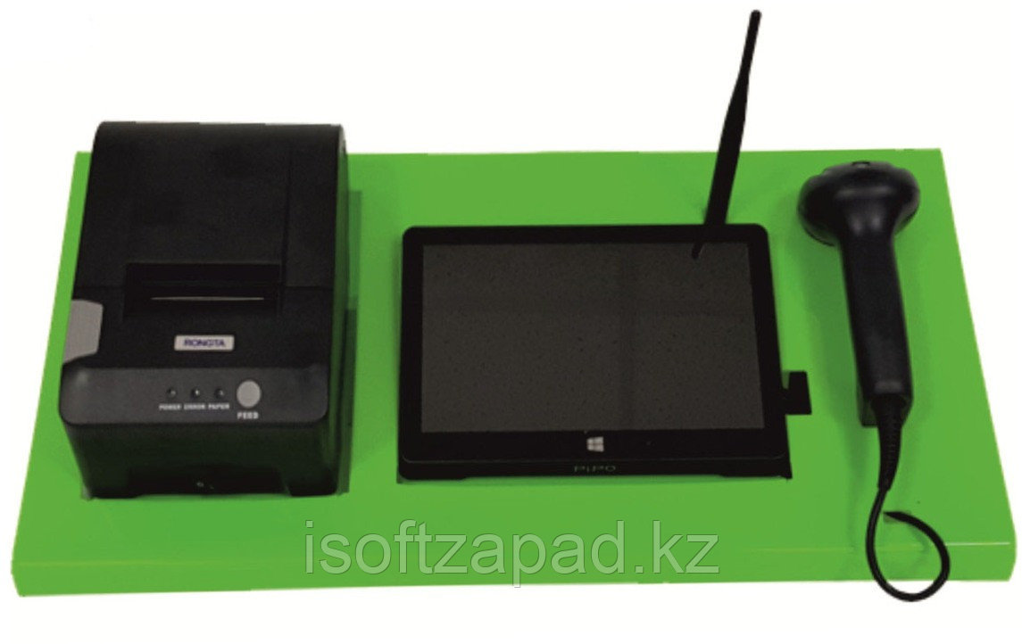Автоматизация магазина (моноблок Pipo, принтер, сканер, 1С Розница)