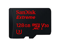 SanDisk Extreme 128GB microSDHC 90/60 MB/s UHS-I U3 4K with Adapter (SDSQXVF-128G)