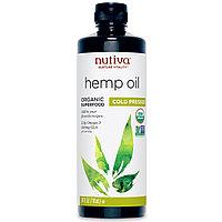 Nutiva, Органическое конопляное масло, холодного отжима, 710 мл