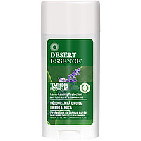 Desert Essence, Tea Tree Oil Deodorant with Lavender Oil, (70 ml)