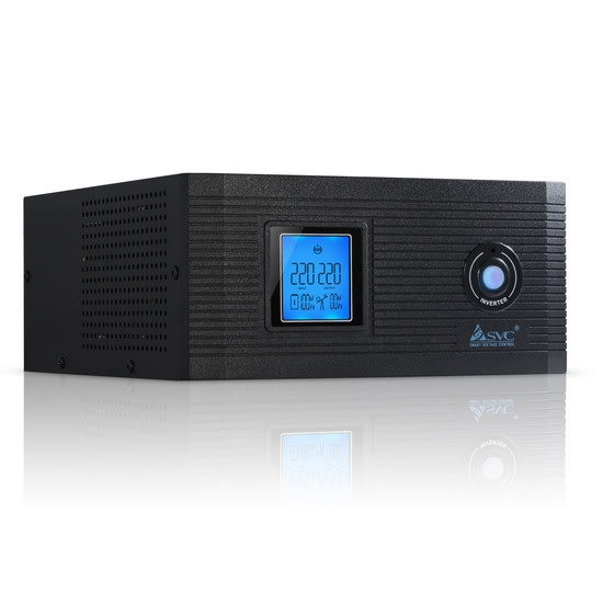 Инвертор преобразователь SVC DI 1000 F-LCD  (800вт)
