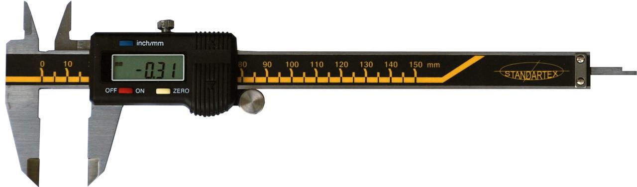 Штангенциркуль с цифровой индикацией, 150 мм