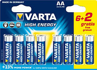 Батарейка High Energy Mignon 1.5V-LR6/ AA (6+2 шт)