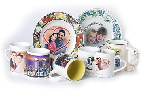 Печать на кружках, тарелках, чехлах сот.телефонов керамике, таблички, сувениры с любым принтом, Алматы. Звони!