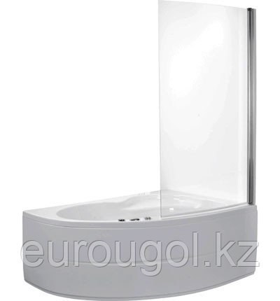 Шторка для ванны одностворчатая Roca Mistral