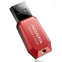"USB-флеш-накопитель ""A-DATA  USB Dash Drive 2.0       16GB  Slim Bevelled  M:UV100 Red"""