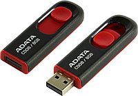 "USB-флеш-накопитель ""A-DATA  USB Flash Drive 2.0      8GB Compact  M:C008 Black ""Red"""