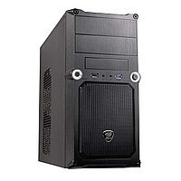 "Корпус для компьютера ""Кейс COUGAR MG100: Motherboard support:Full ATX/Micro ATX/Flex ATX,2 x USB+Audio,Black"""