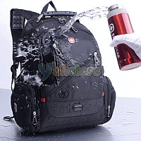 "Backpack,Textile,Black,Audio out,15.6"",SWISS GEAR Multifunction (рюкзак ,матерчатый)  M:770"