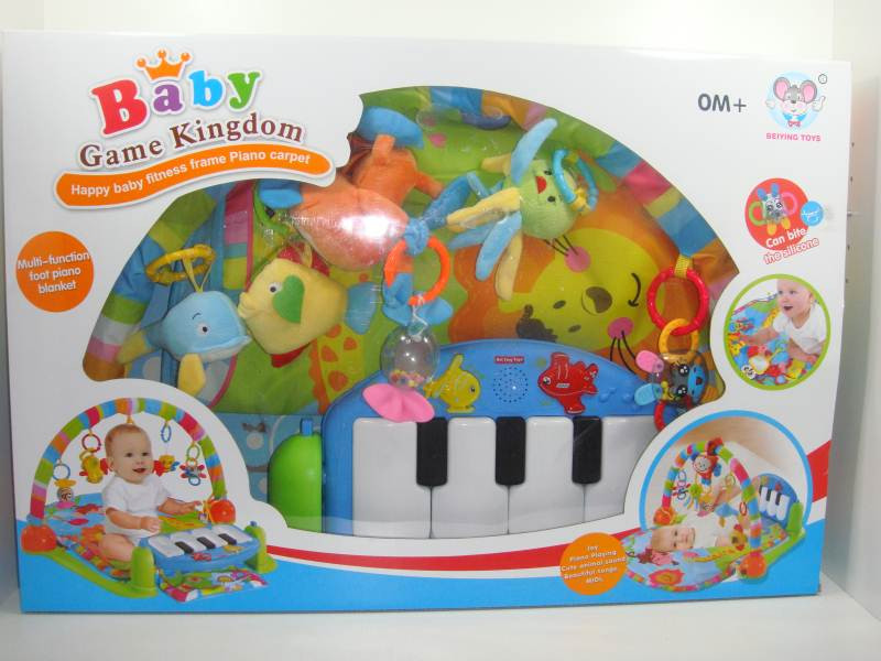 Детский коврик с пианино для ног