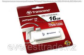 USB Флеш 16GB 3.0 Transcend TS16GJF730 белый, фото 2