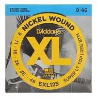 "Струны D""Addario для электрогитары Super Light Top/Regular Bottom 9-46"