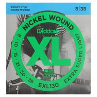 "Струны D""Addario для электрогитары Extra Super Light 8-38"