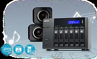 QNAP TS-x70 Pro — сетевые накопители плюс мультимедиа центры