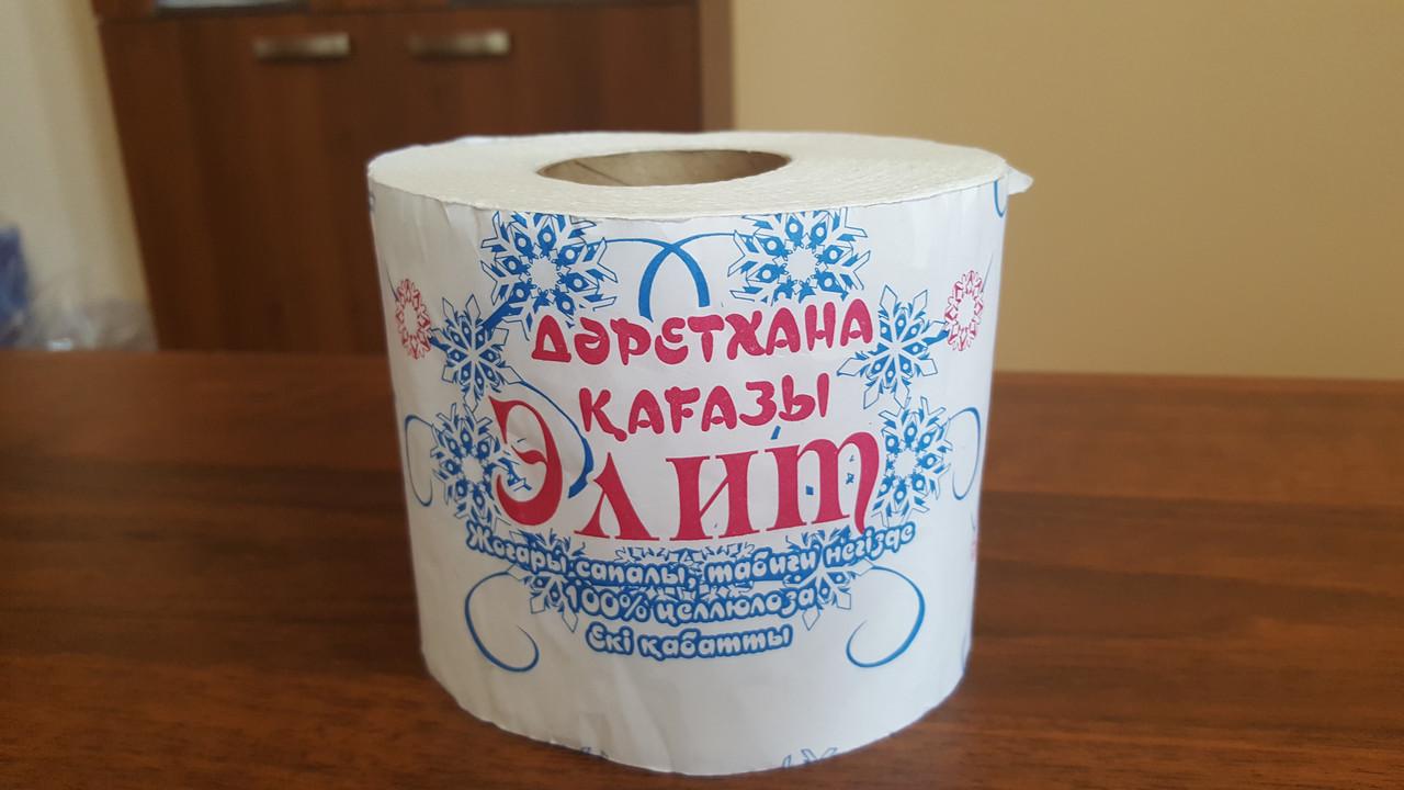 Рулонная туалетная бумага «Элит»
