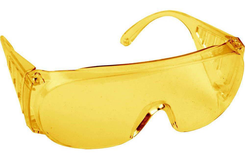 Очки ультрафиолетовые защитные желтые (UV400)