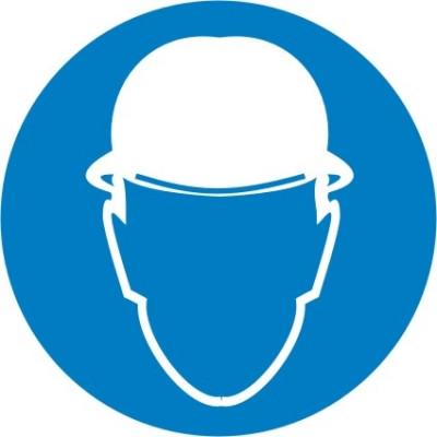 """Знак """"Работать в защитной каске (шлеме)"""""""