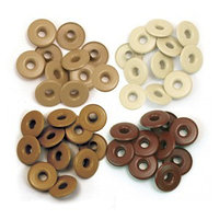 Люверсы We R Memory Keepers - Wide Eyelets - Brown