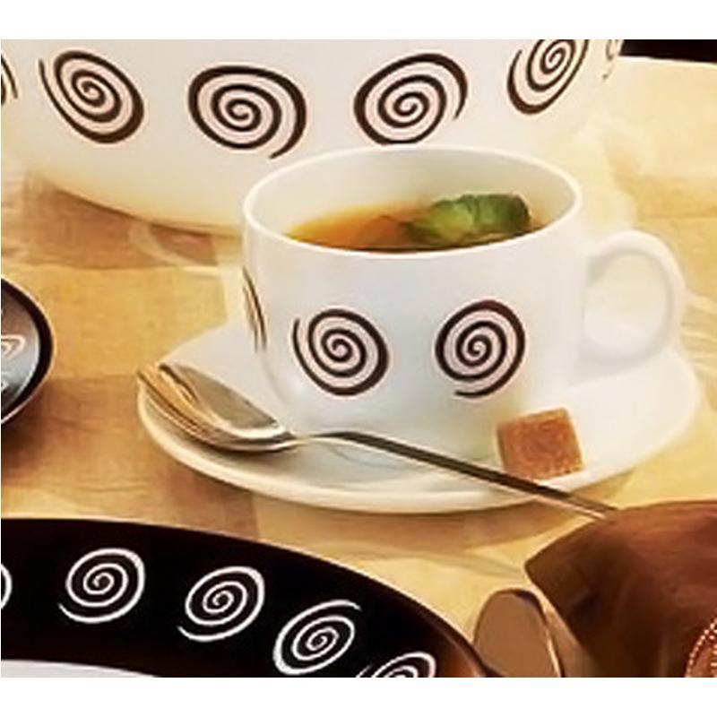Чайный сервиз Luminarc Sirocco Brown (12 пр.) P6890