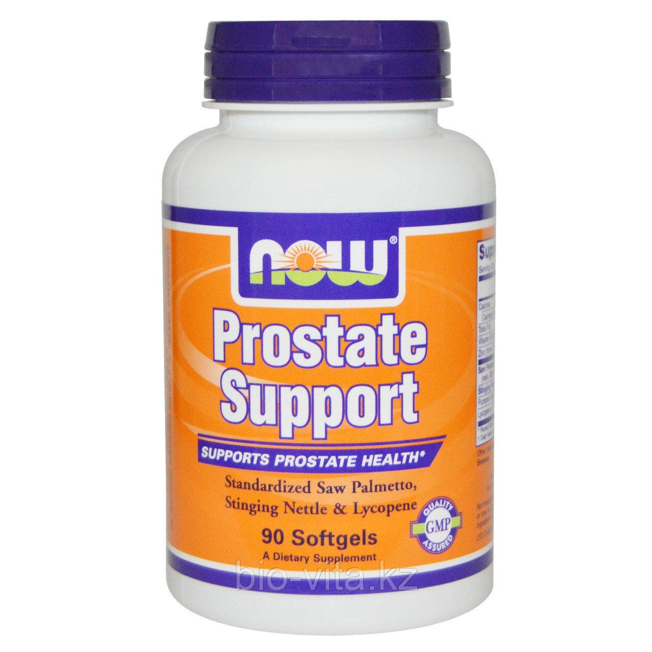Now Foods, Простата суппорт. Для профилактики и лечения простатита, 90 капсул.