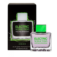 Electric Seduction in Black Antonio Banderas для мужчин