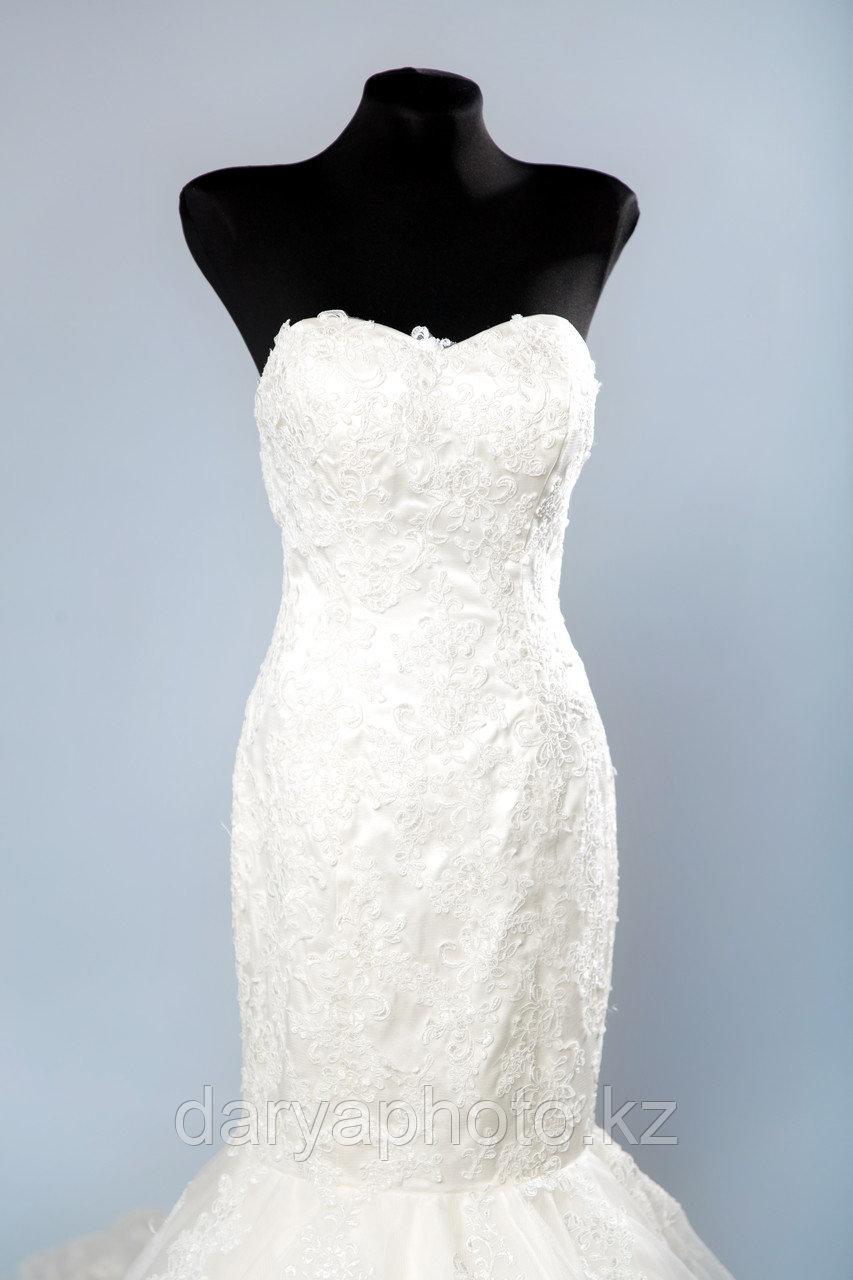 Свадебное платье Русалка, со шлейфом