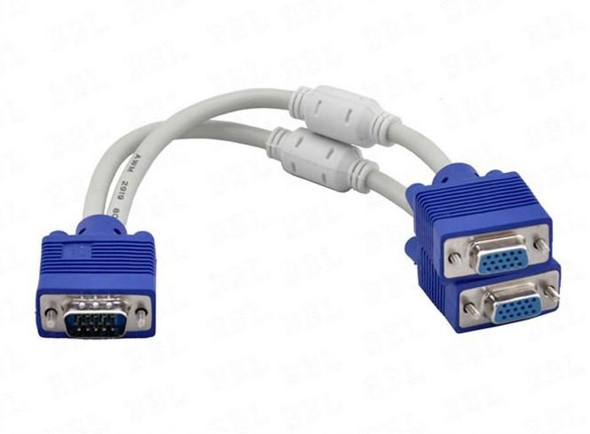 VGA на 2 VGA сплиттер, разветвитель, коммутатор
