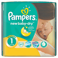 "Подгузники Pampers active baby Newborn ""1"" 2-5 кг"
