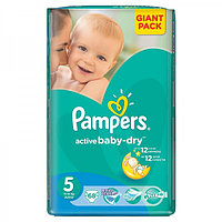 "Подгузники Pampers active baby Junior ""5"" 11-18 кг"
