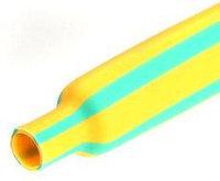 Желто-зеленые термоусадочные трубки с коэффициентом усадки 2:1 ТУТнг-ж/з-6/3 (™КВТ)