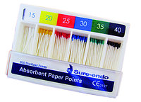 Absorbent paper points (ассорти) пины