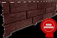 Сайдинг СТОУН-ХАУС Кирпич-Бежевый фасадная панель-форма рванного камня и кирпича, фото 1
