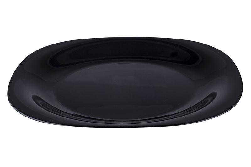 Тарелка обеденная Luminarc Carine Black 260 мм