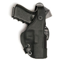 Front line Кобура на пояс Front Line Thumb-Spring Holster Low Ride для Glock 17 /17C/22/22C (KNG717D)