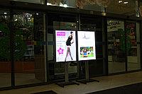 Рекламная конструкция со световой панелью А1