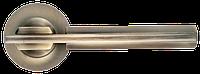 Дверная ручка Morelli MH-13 MAB/AB Матовая античная бронза/античная бронза