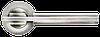 Дверная ручка Morelli MH-13 SN/CP Белый никель/хром