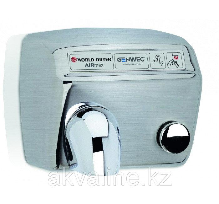 Сушилка для рук из нержавеющей стали,автоматическое управление, полированная  Airmax