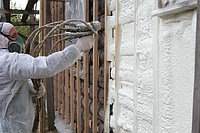 Наружное утепление стен, ППУ 2-х компонентный