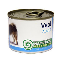 Natures Protection: Консервы dog adult veal 200 гр - для собак 907782